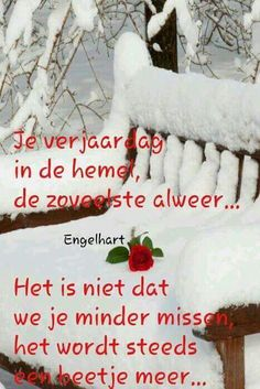 Je verjaardag in de hemel I Miss My Dad, I Miss You, Loosing Someone, Afrikaanse Quotes, Grief, My Father, Death, Qoutes, Sayings
