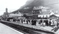 Opening of the Muizenberg Station on 7 June 1913