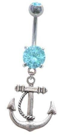 Nautical Belly Ring . My reward when I lose some belly weight :)