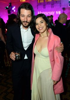 Cesar Chavez Film and Hennessy V.S Celebrate Premiere with America Ferrera and Diego Luna in Los Angeles