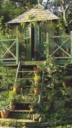 Casa en el jardín