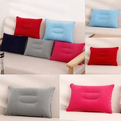 1X Inflatable Transparent Pillow Core Soft Air Cushion Ultralight For Xmas Decor