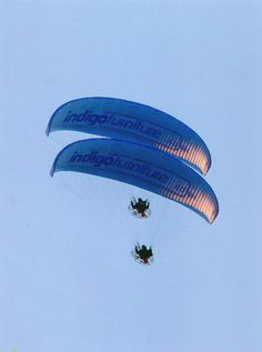 Look out for these over the skies of #Derbyshire #paramotor #fly