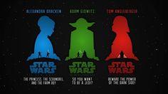 Star wars, poster, fan art wallpaper