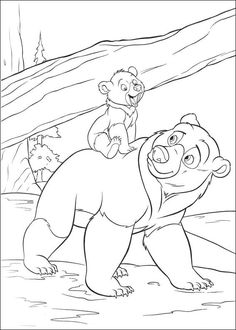 Brother bear coloring pages on coloring bookinfo Family Coloring Pages, Bear Coloring Pages, Cool Coloring Pages, Coloring Books, Kids Colouring, Disney Princess Coloring Pages, Disney Princess Colors, Disney Colors, My Little Pony Twilight