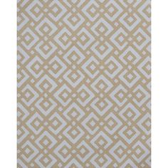 Serena & Lily Lattice Fabric - Fog ($2) ❤ liked on Polyvore featuring home, home improvement and fabric