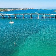 From @palmbeachesfl Tag your friends and follow us for more... Bridge over tranquil waters. In