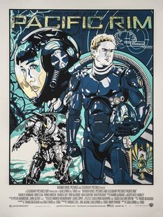 Pacific Rim Limited Edition Prints from Odd City