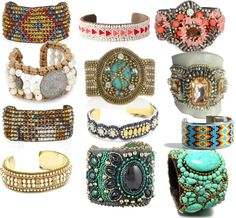 """Beaded Cuffs"" by bettybob12 on Polyvore"