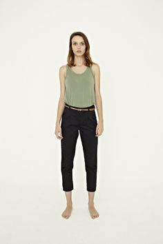 Shop for Women :: Bottoms at Vanishing Elephant - Chapman #vanishingelephant #chinos