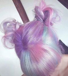 Hair style & pastel colors