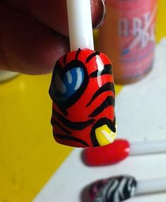 Tiger stripes and hearts! (: