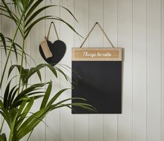 Adding both style and function, our hanging chalkboards are a perfect addition to your wall.