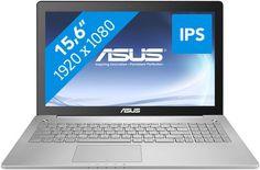 """ASUS N550JK-CN167D i7-4700Q 8GB RAM 1.5TB HDD 4GB GTX850M VGA 15.6"""" FULL HD Notebook"""