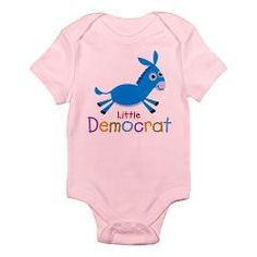 Too cute! Brand your baby with Little Liberal gear from Democrat Brand