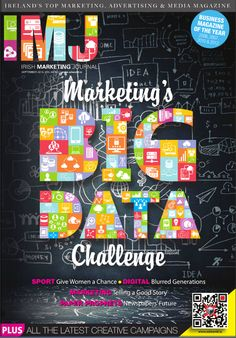 IMJ September issue is out. Along with all our regular features, in this issue of IMJ we look at the Big Data Challenge and the opportunities for data focused agencies. We also hear the from some of Irelands key newspaper figures on what is happening and likely to happen in the industry. Media Magazine, Advertising Industry, Money Challenge, The Marketing, Big Data, Newspaper, Ireland, Irish, September