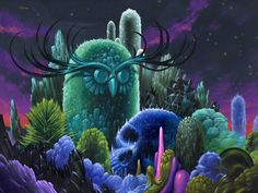 """""""Memorial of the Forgotten"""", 18"""" x 24"""", acrylic on wood, 2012 Jeff Soto ©2014"""
