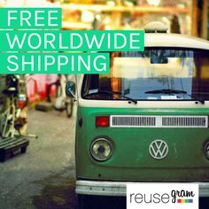 We'll go anywhere to deliver Reusegrams... For free!