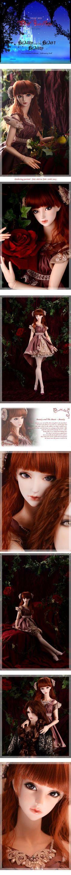 the SOOM emporium Beauty and the Beast #bjd