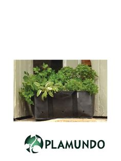 Home Allotment® rechteckiger Pflanzbeutel für Kräuter von Burgon & Ball, 2 Stück | Plamundo Garten Shop
