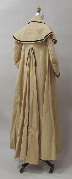 Coat Date: ca. 1790 Culture: European Medium: cotton Dimensions: Length at CB: 59 in. (149.9 cm) Credit Line: Purchase, Friends of The Costu...