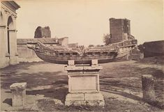1860/66 Simelli Baldassarre (attr.) Piazza della Navicella.