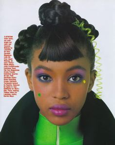 When Naomi Campbell started, just had to put this one in, though it is not quiet relative to my theme