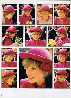 Diana in pink.