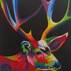 Lukisan Pop Art Rusa