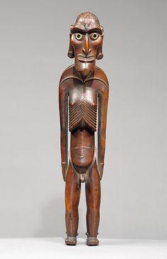 Male Figure (Moai Kavakava) Chile, Rapa Nui (Easter Island), mid to late Easter Island Moai, Easter Island Statues, Museum Exhibition, Art Museum, Tonga, Tahiti, Polynesian Art, Polynesian Culture, Art Ancien