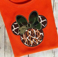 Minnie Mouse Tank top orange tank Giraffe print Minnie with