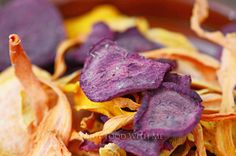 Vegetable crisps made with seasonal vegetables and flavoured with a herb seasoning. A delicious healthy alternative to processed crisps. Vegetable Crisps, Vegetable Seasoning, Beetroot, Healthy Alternatives, Butternut Squash, Carrots, Vegetarian Recipes, Meat, Vegetables
