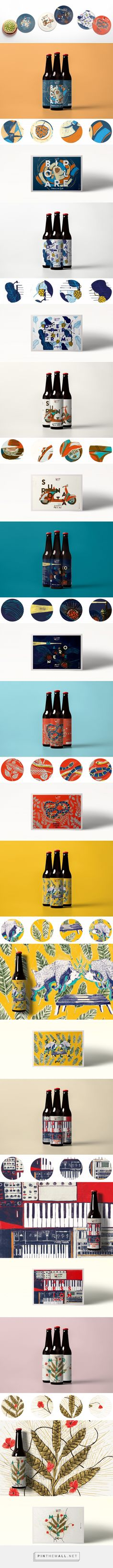 Contromano Beer Branding and Packaging by Kero   Fivestar Branding Agency – Design and Branding Agency & Curated Inspiration Gallery #beerpackaging #beer #packaging #package #packagedesign #design #designinspiration