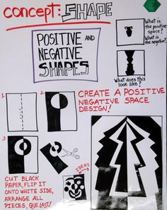 Lines from the Art Room: Shape Project Posters