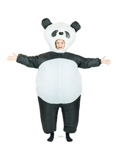 Puhallettava+panda-asu Panda, Pandas