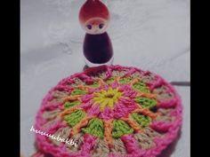 overlay crochet mandala,kolay mandala