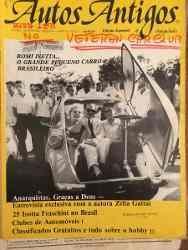 Revista Autos Antigos Ano 2 Num 5 Fraschini Romi Isetta - R$ 8,00 em Mercado Livre