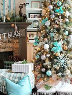 Frosted Sugar Pine Artificial Christmas Trees Online | Balsam Hill