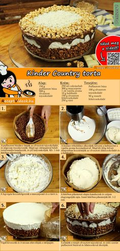 Cookie Recipes, Dessert Recipes, Homemade Sweets, Salty Snacks, Tasty, Yummy Food, Confectionery, No Bake Cake, Food Hacks