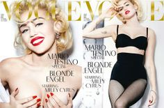 Miley Cyrus covers Vogue Germany