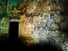 Two thousand two hundred years ago work began on an extensive series of cave monuments in Maharashtra, India.