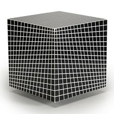 Richard Anuszkiewicz, Untitled, 1968, Plastic construction