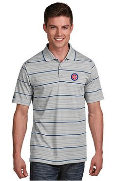 Men's Chicago Cubs Gravity Polo By Antigua