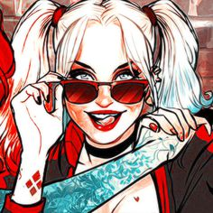 Dc Comics, Comics Girls, Margot Robbie Harley, Gotham Girls, Bad Girls Club, Cartoon Girls, Heart Wallpaper, Joker And Harley Quinn, Drawing Faces