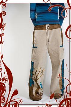 Custom Handmade Pants | designer, hippie style, patchwork, original