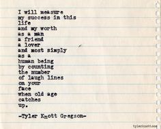 Typewriter Series #424 by Tyler Knott Gregson