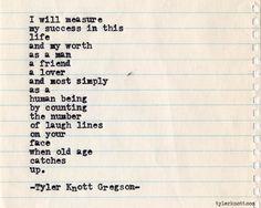 Typewriter Series #424 by Tyler Knott Gregson