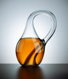 """That there is the Klein Bottle, first conceived of in 1882 by German mathematician Felix Klein. Klein's """"non-orientable surface,"""" as it's called in the math community, is like a Möbius strip in that you cannot distinguish inside from outside;"""