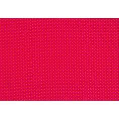 Roos met oranje stipjes - Modestofjes.be - Online stoffenwinkel