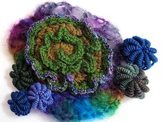 freeform crochet & knitting by Prudence - an album on Flickr